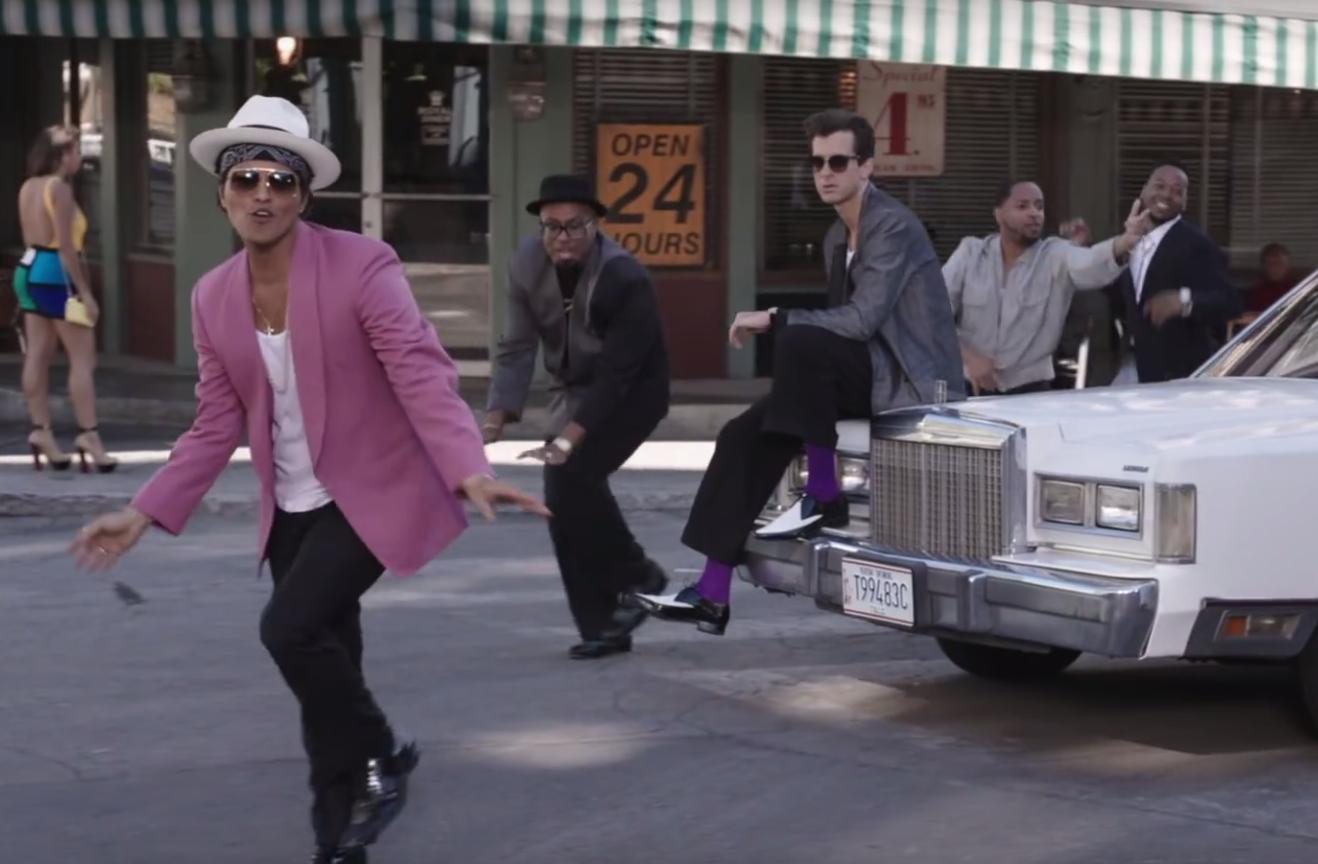 Bruno Mars, MArk Ronson, Uptown funk