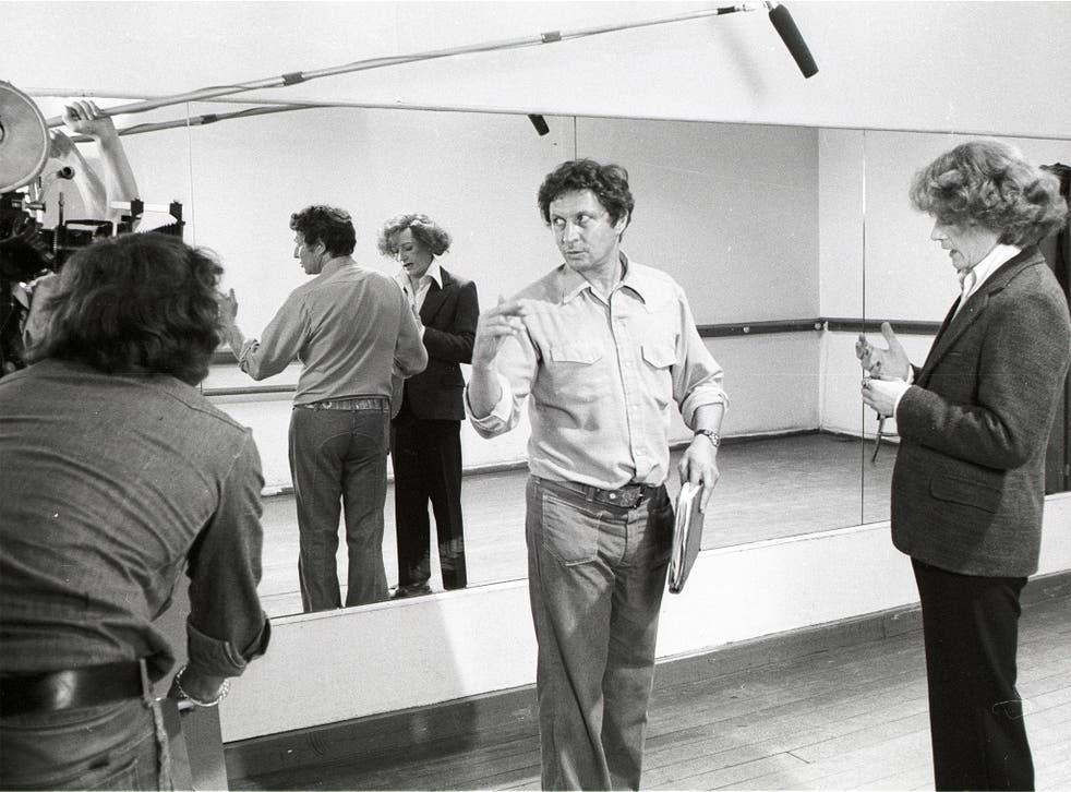 A steadfast storyteller: Gold in 1975, on the set of 'The Naked Civil Servant'