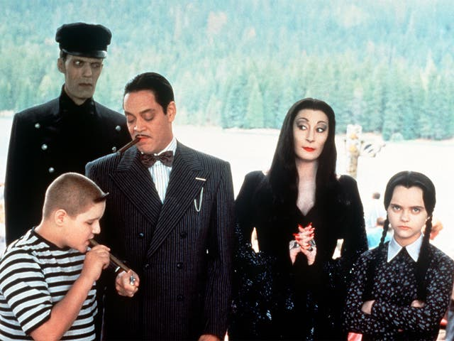 Creepy campers: 'Addams Family Values'