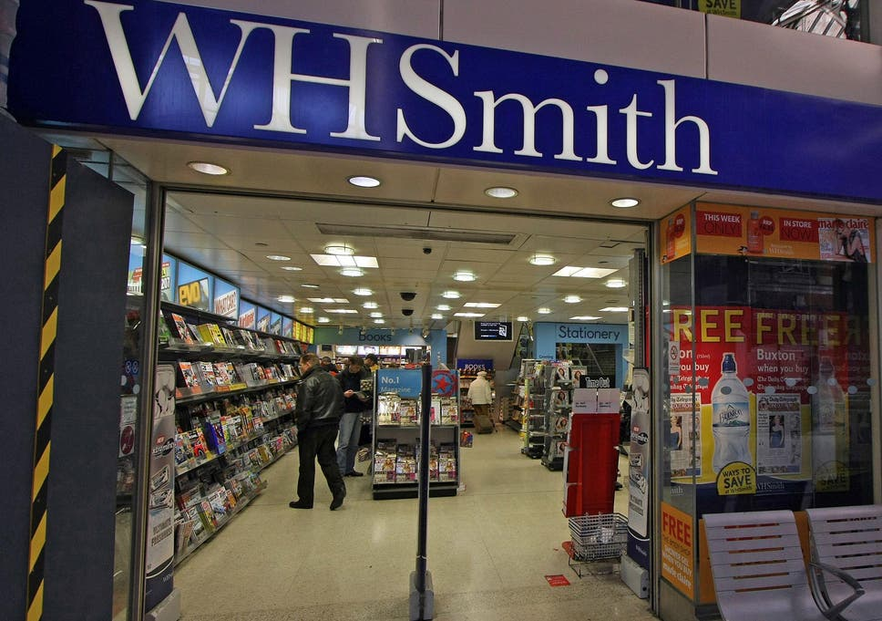 Wh smith shows how to be a high street survivor the independent wh smith has been in business for 225 years solutioingenieria Images