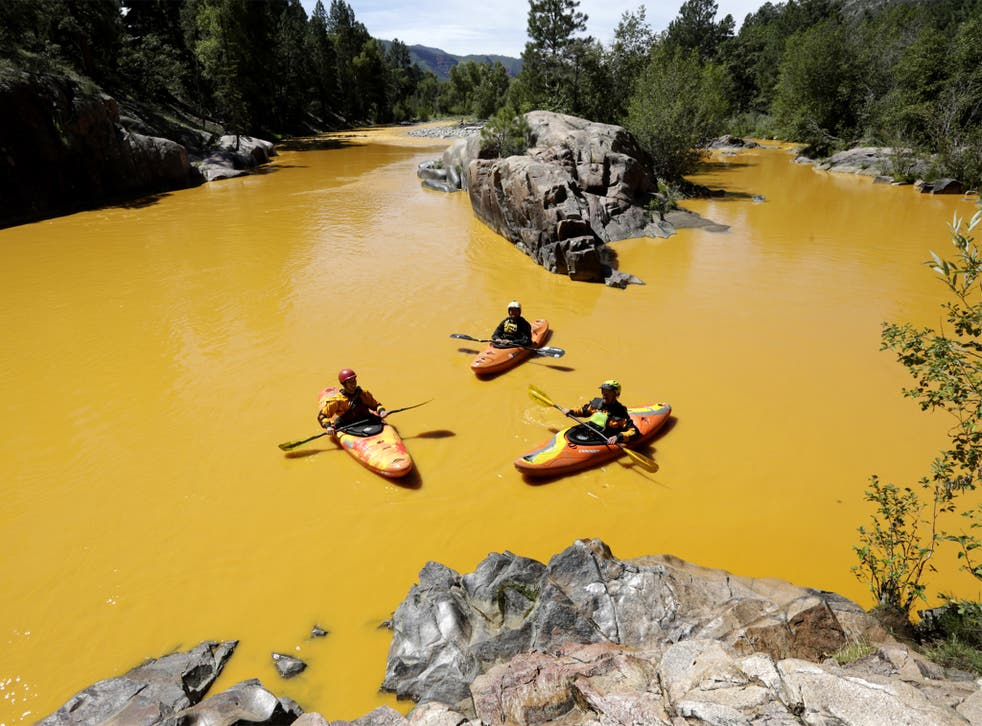 Not all toxic chemicals are as obvious as the three million gallons of contaminated water that spilled into the Animas River in Colorado last year