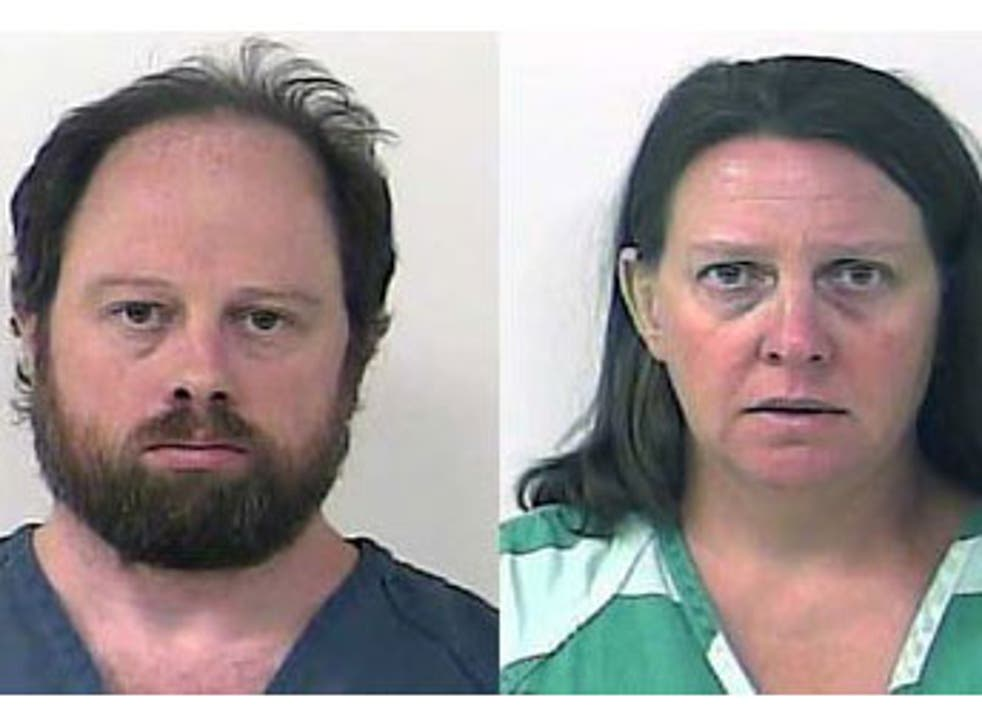 Rob Johnson, 44, and his wife, Marie Johnson, 43, were arrested on Tuesday and charged with felony sexual assault charges