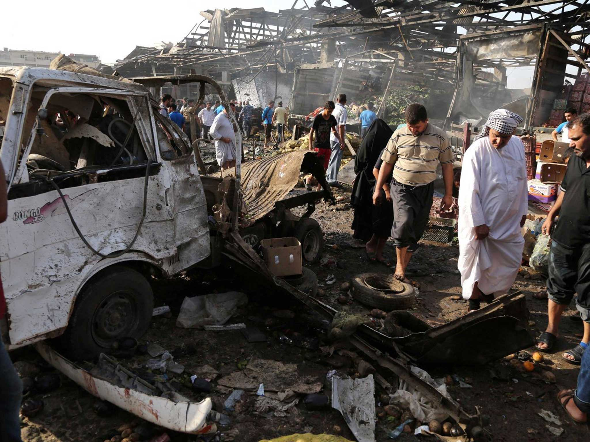 Baghdad truck bomb: More than 60 dead after explosion in
