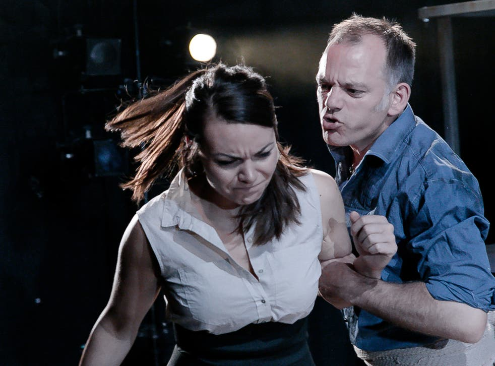 Lilly Papaioannou (Carmen) and Michael Bracegirdle (Jose)