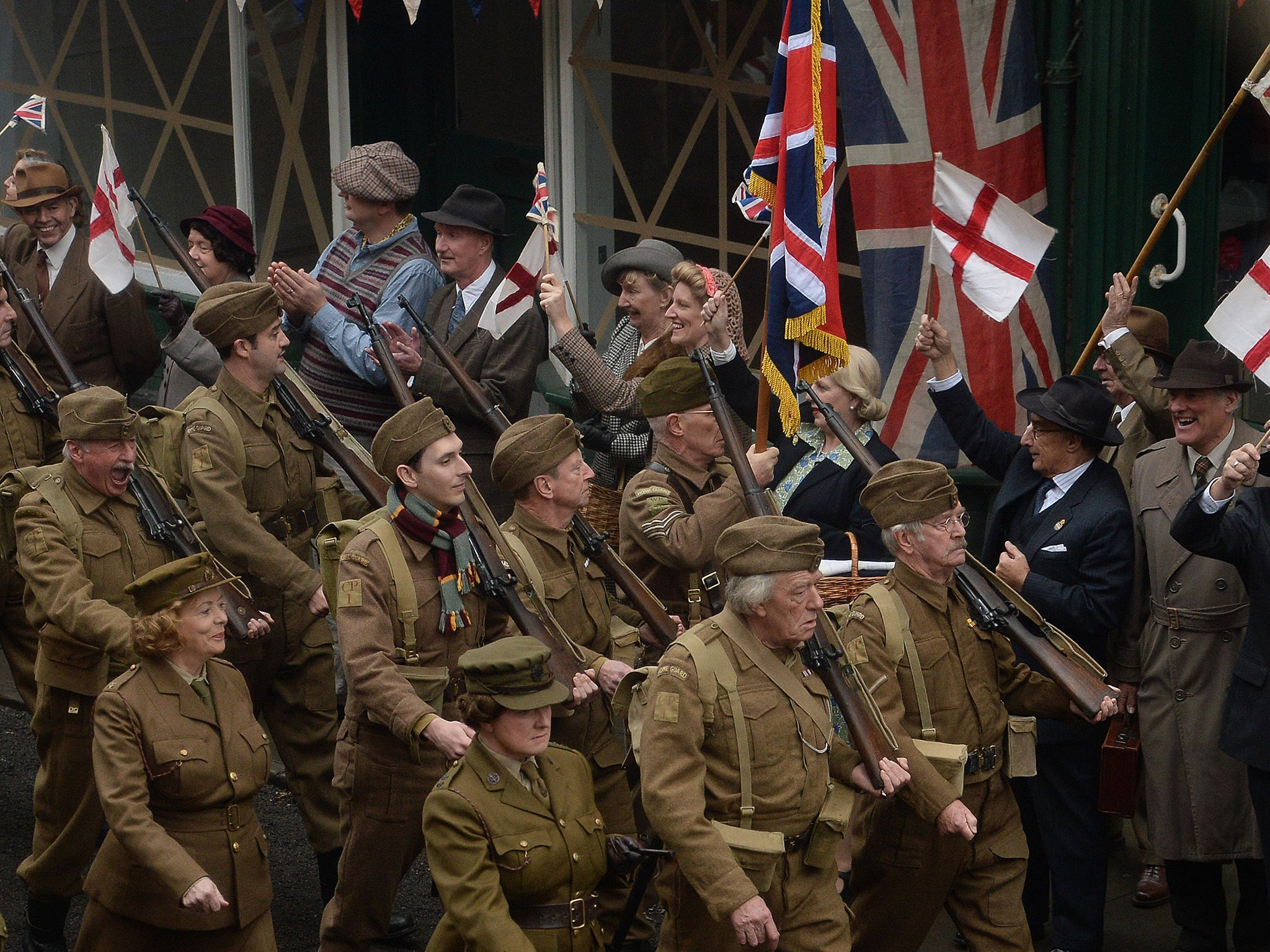 Dad's Army: Row breaks out between towns trying to cash in ...