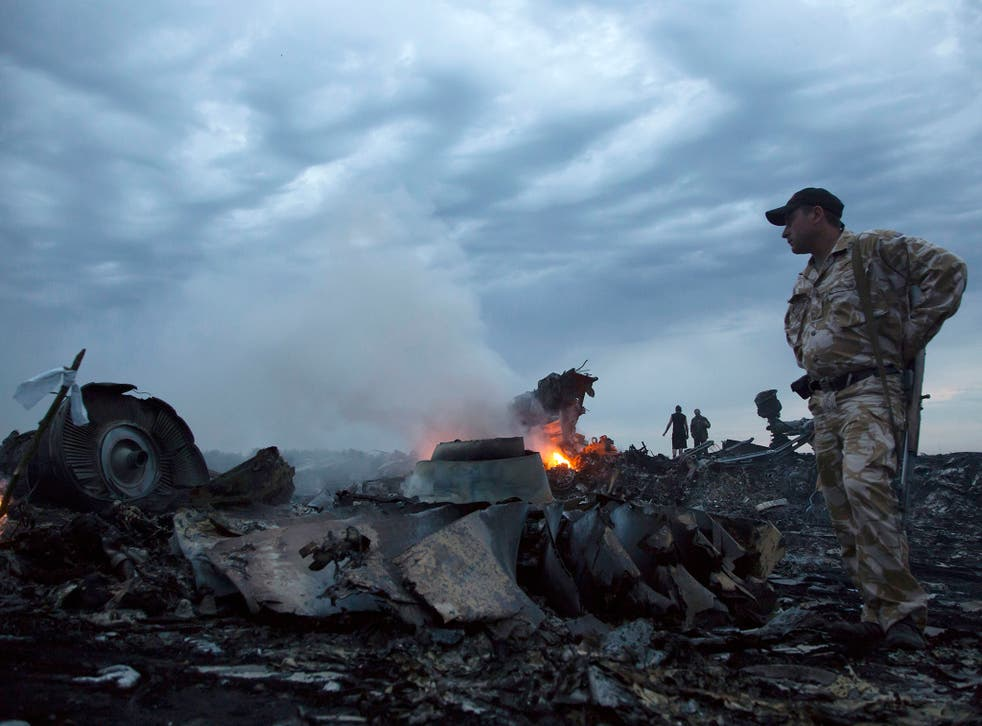 Flight MH17 crashed on 17 July last year, killing all 298 people on board