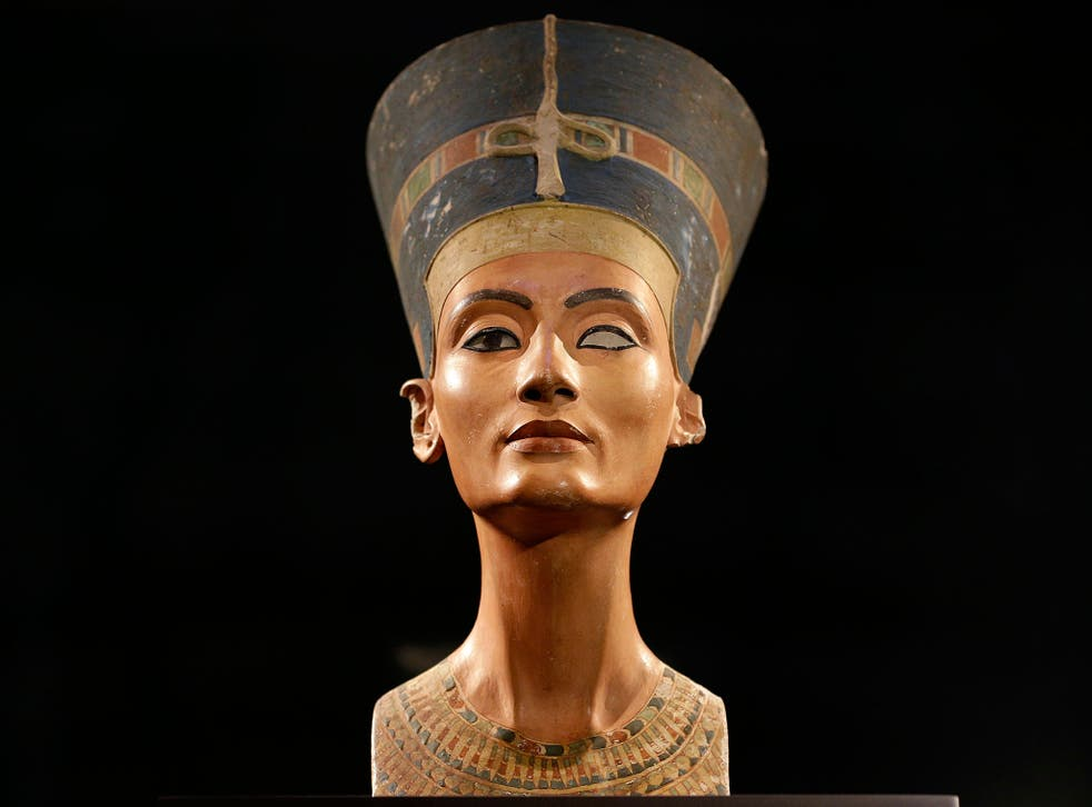 A bust of Nefertiti in the Neues Museum in Berlin. The queen's tomb has never been found