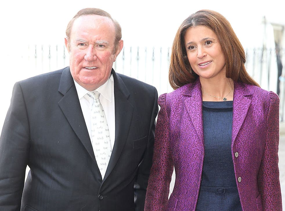 Andrew Neil and Susan Nilsson married in the south of France last weekend
