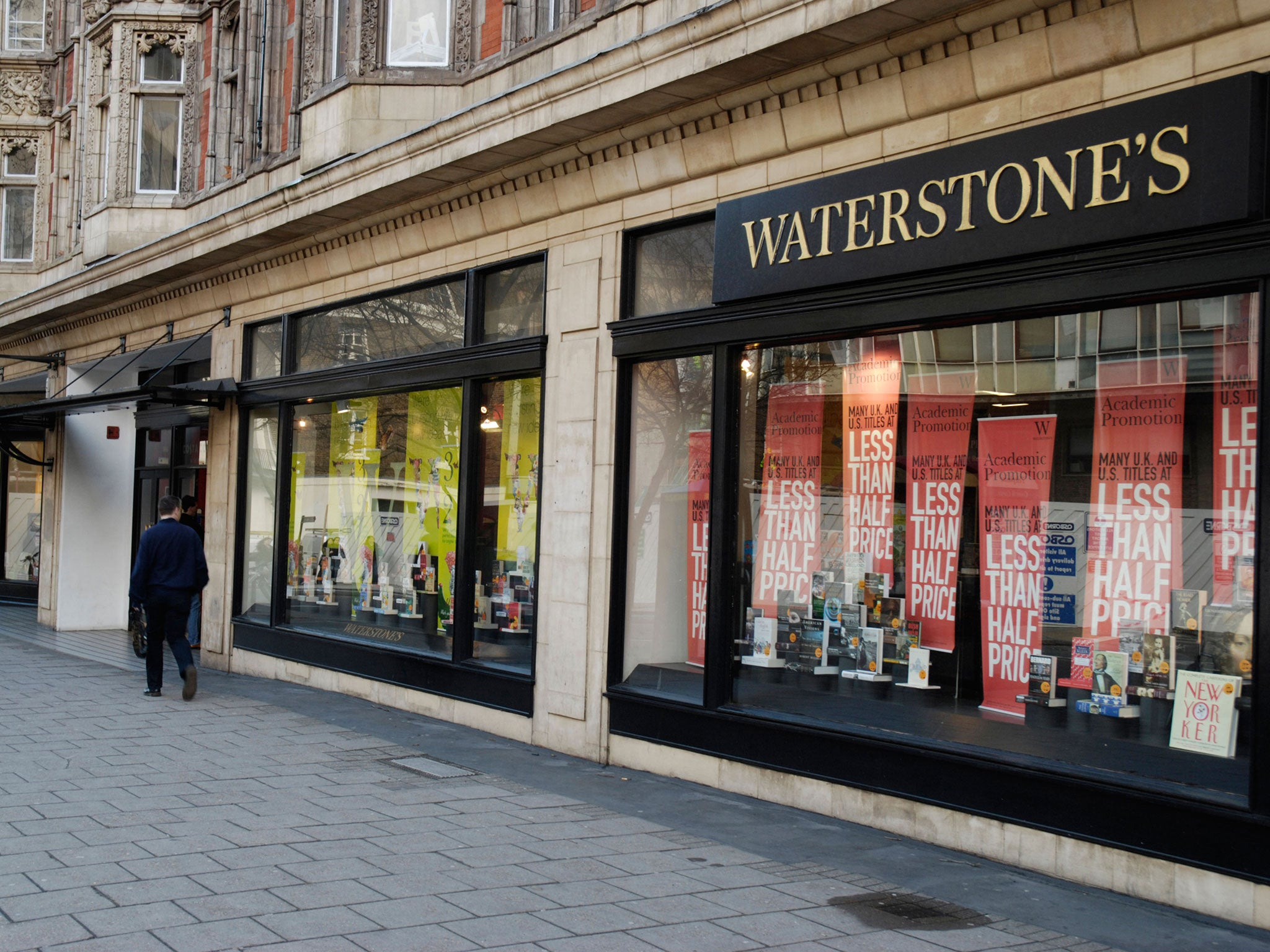 London's latest Waterstones proves that ebooks have far from cornered the market