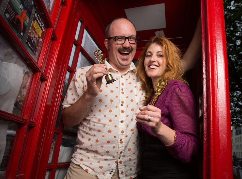 Edinburgh solo performers Neil James and Jessica Sherr