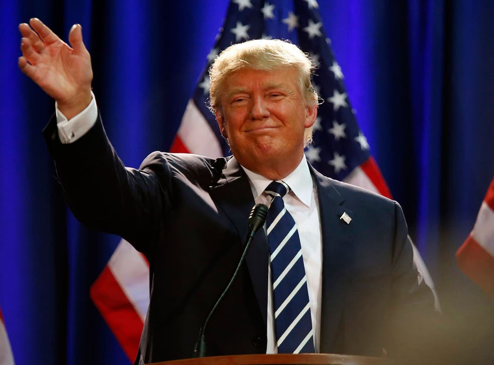 Donald Trump eschews Iowa but goes on TV