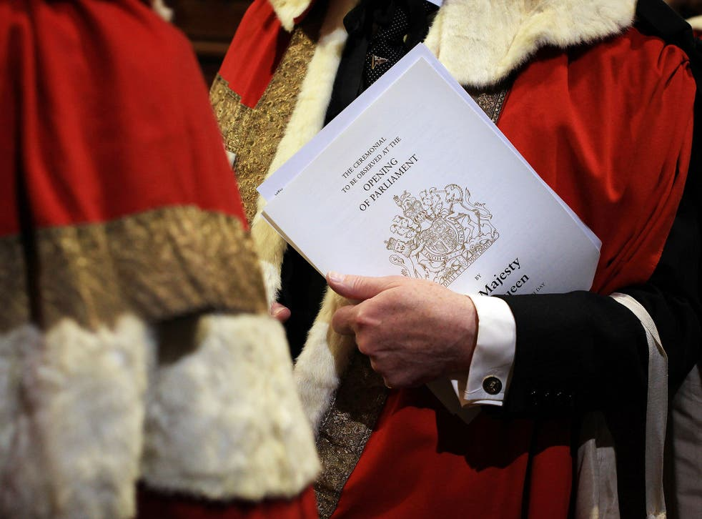 The Electoral Reform Society has branded the House of Lords 'out of date and out of control' (Getty)