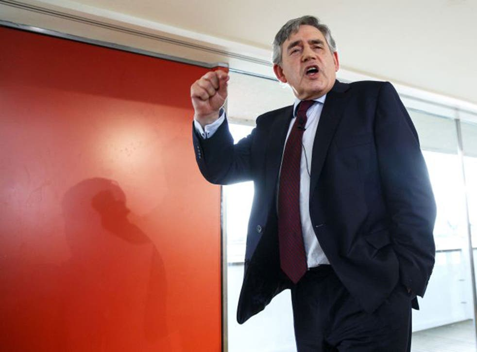 Gordon Brown urged to party to become 'credible' again