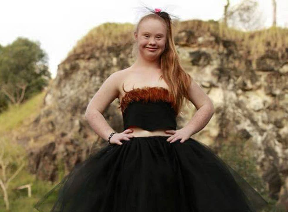 Madeline Stuart has been chosen as a model for NYFW