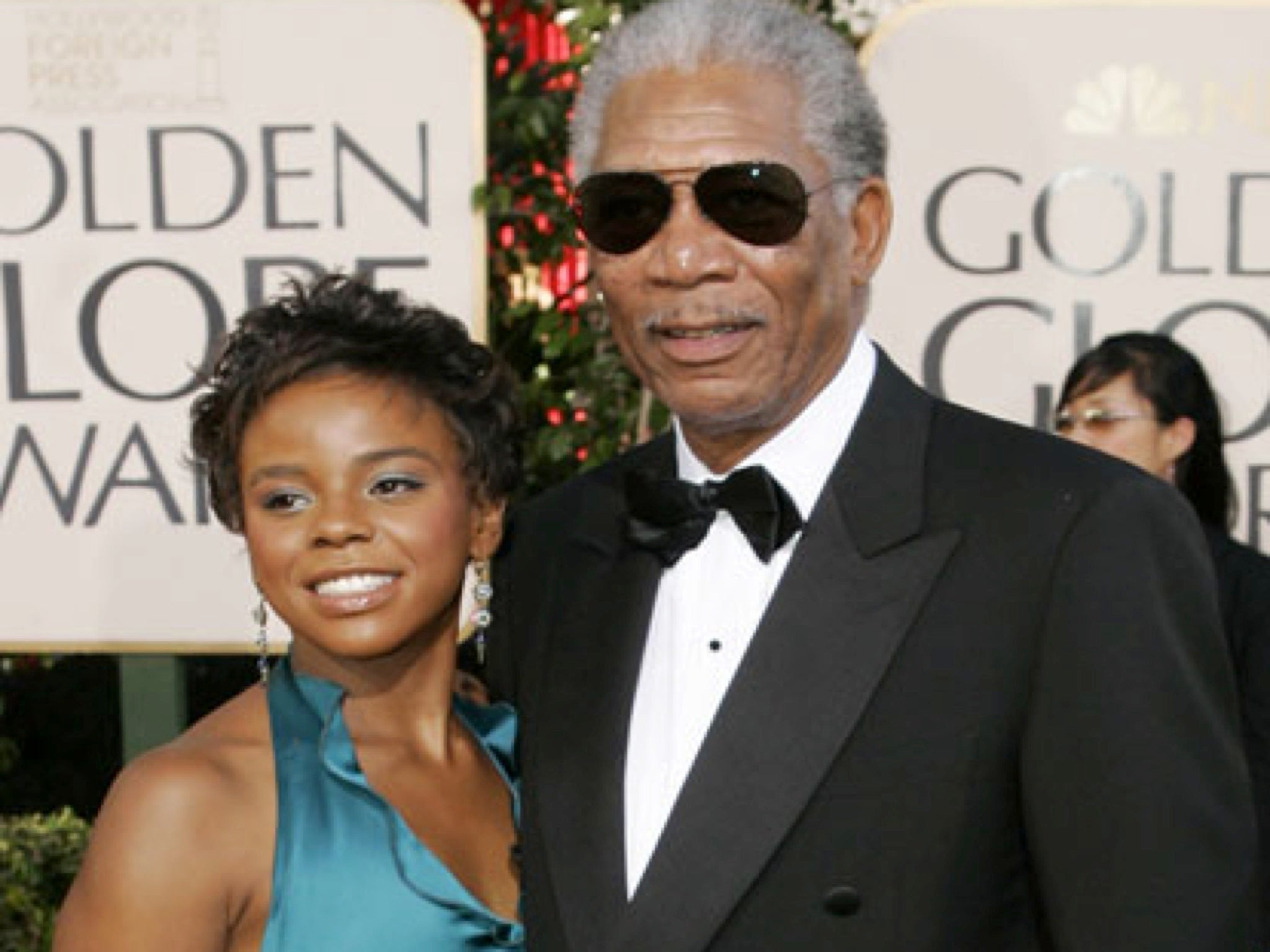Morgan freeman dating granddaughter