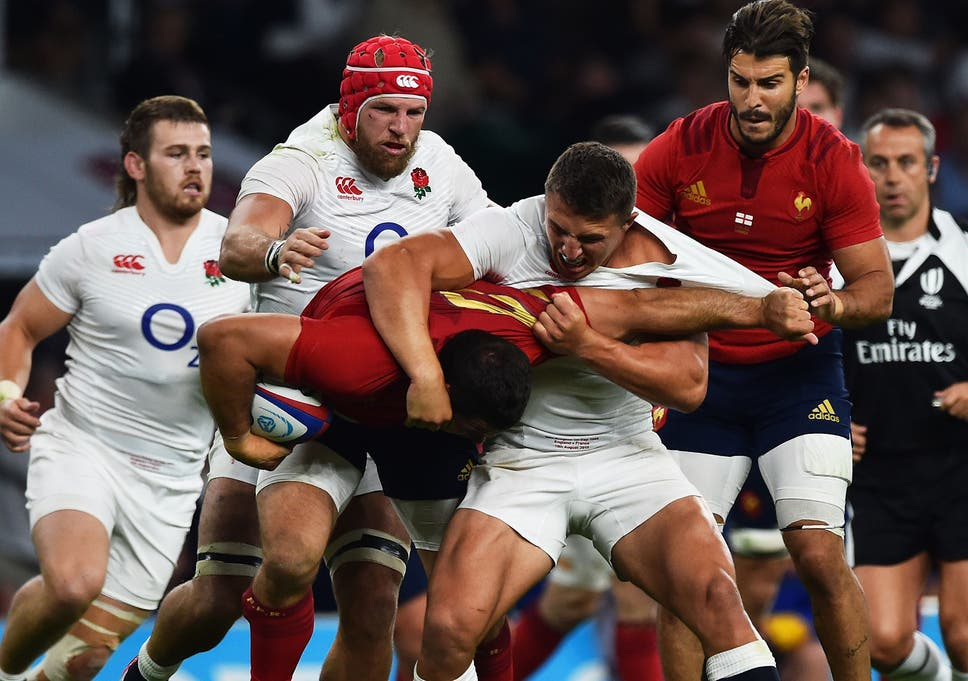 af8b0cc02d8 England Rugby World Cup squad: Sam Burgess and Henry Slade included as  Danny Cipriani misses out