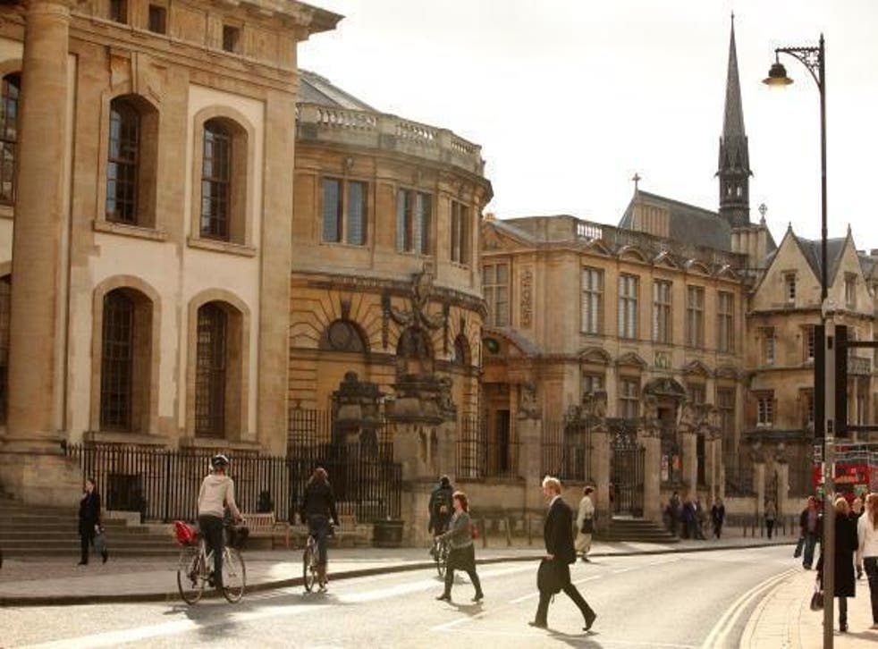 The University of Oxford was named as one of the most censorious in terms of free speech last year