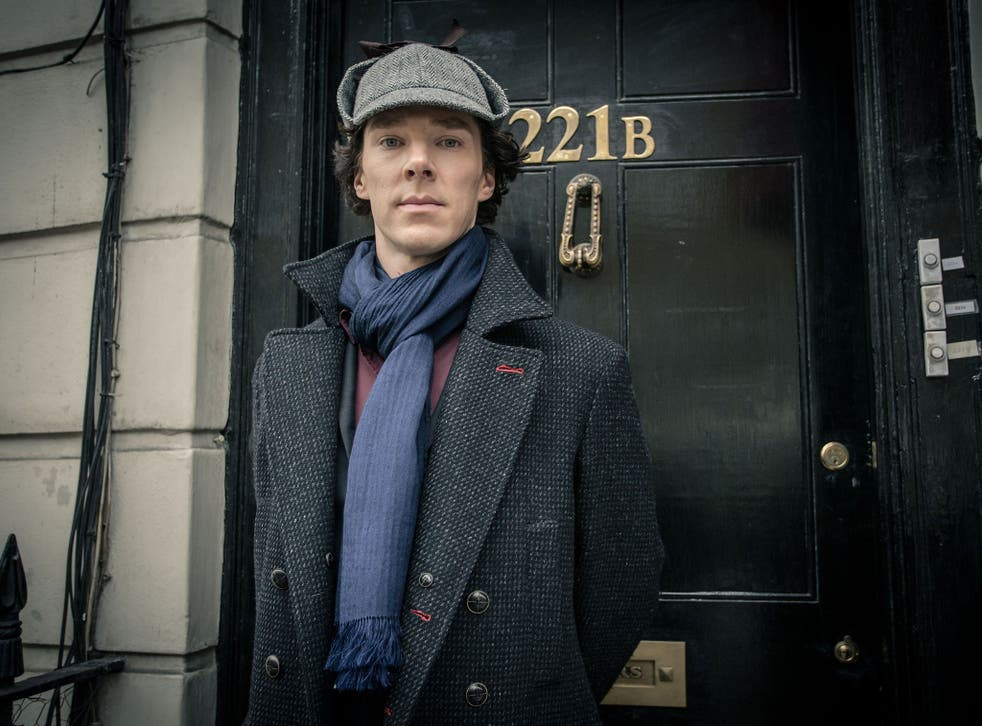 Sherlock Holmes, as played by Benedict Cumberbatch, was asexual