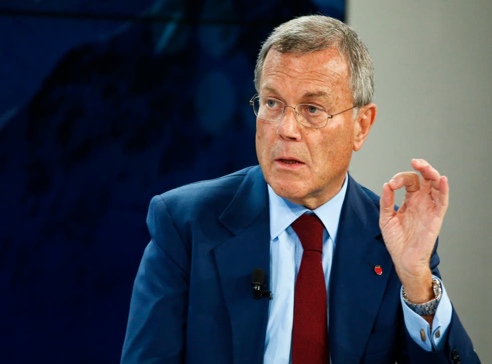"""Sir Martin Sorrell said he """"rejects the allegation completely"""""""