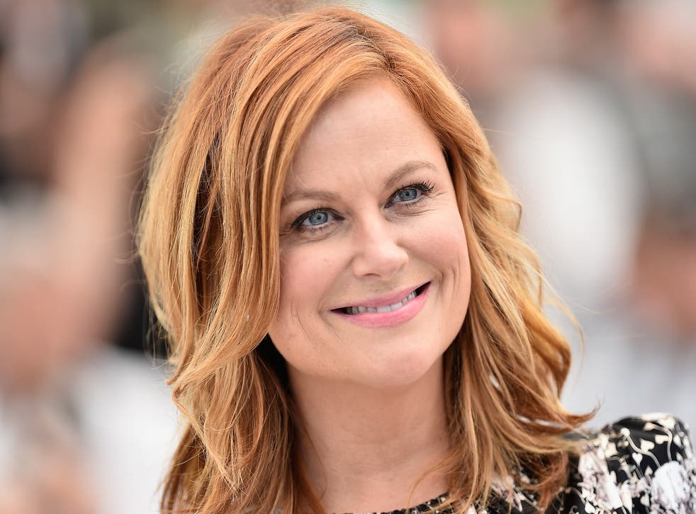 Amy Poehler attends the 68th annual Cannes Film Festival on 18 May 2015.