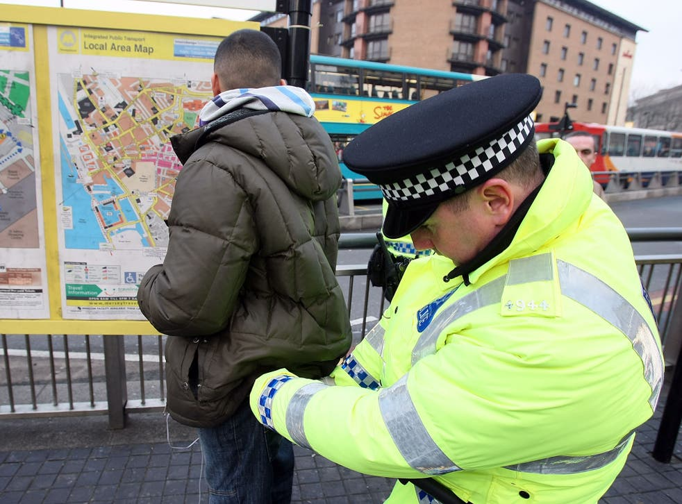 HMICFRS called on police forces to improve data on stop and searches to understand reasons for disparity