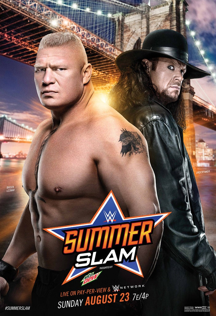 WWE SummerSlam 2015 What Time Does It Start And Channel Is On Brock Lesnar Takes The Undertaker In Main Event