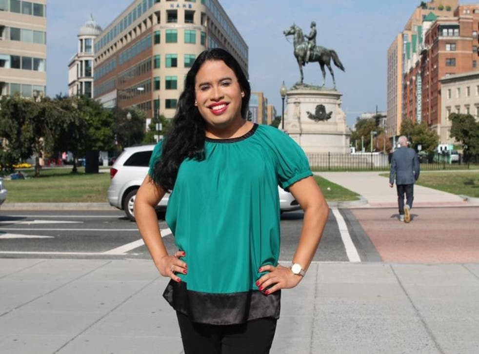 This handout photo provided by the National Center for Transgender Equality (NCTE) shows Raffi Freedman-Gurspan in Washington. The White House announced Freedman-Gurspan's appointment Tuesday as an outreach and recruitment director for presidential person