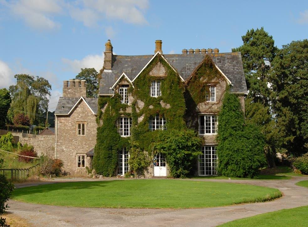 Original exterior of the house