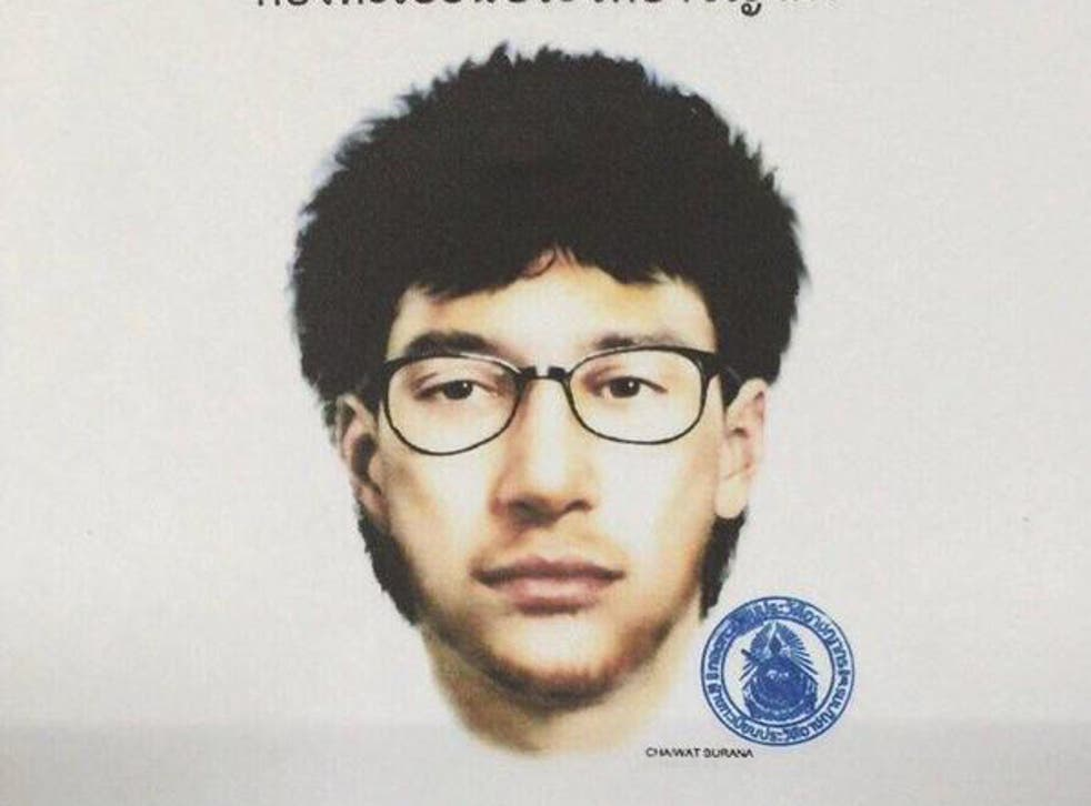 Police released a sketch of the man who they believe may be connected to the attacks