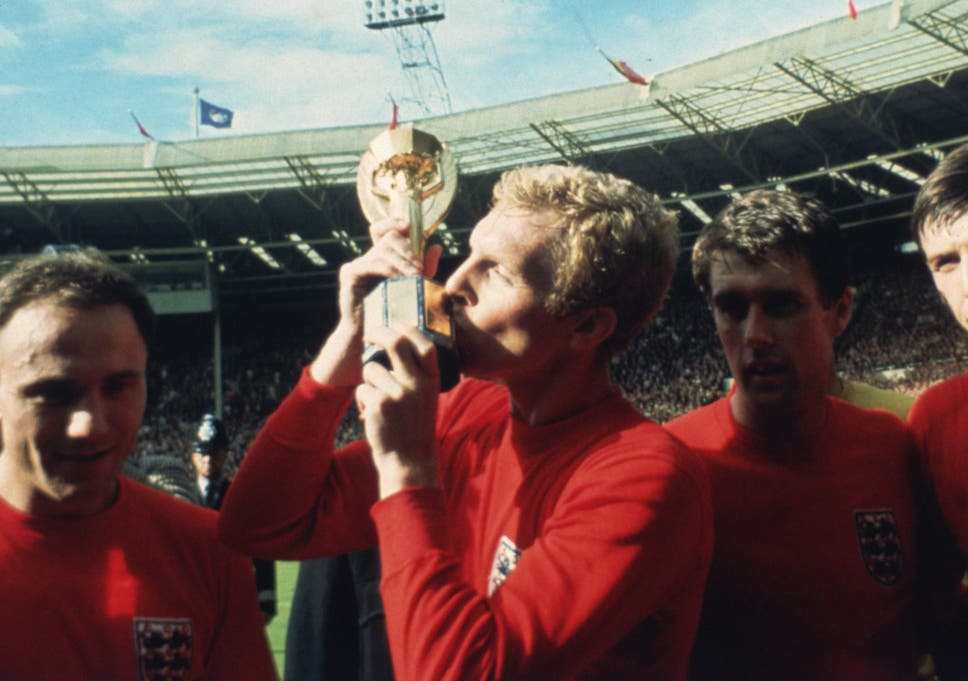 9bfbead35bc England 1966 World Cup kit voted the greatest of all time by fans ...