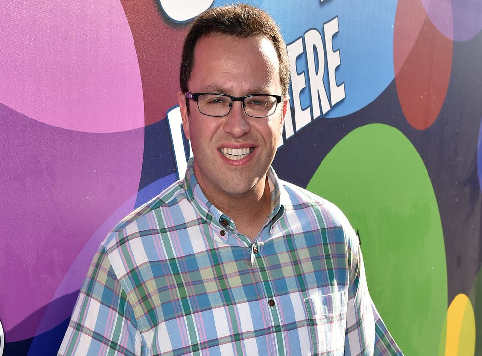 Jared Fogle attends the Los Angeles premiere of Disney-Pixar's 'Inside Out' in 2015.