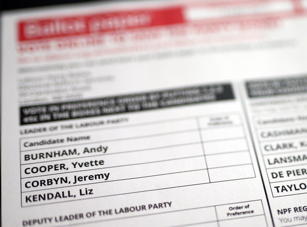 Labour Party members are due to vote in the Party leadership contest with results announced on the 12 September