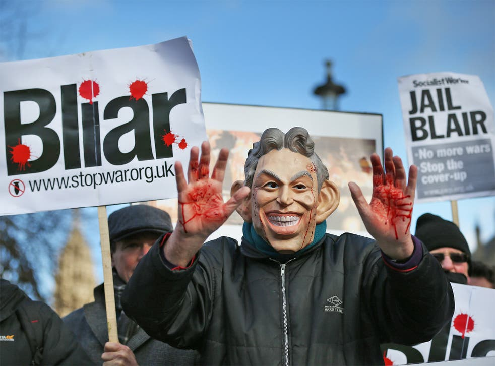 Protesters, here outside Parliament in January this year, continue to call for the delayed report's publication