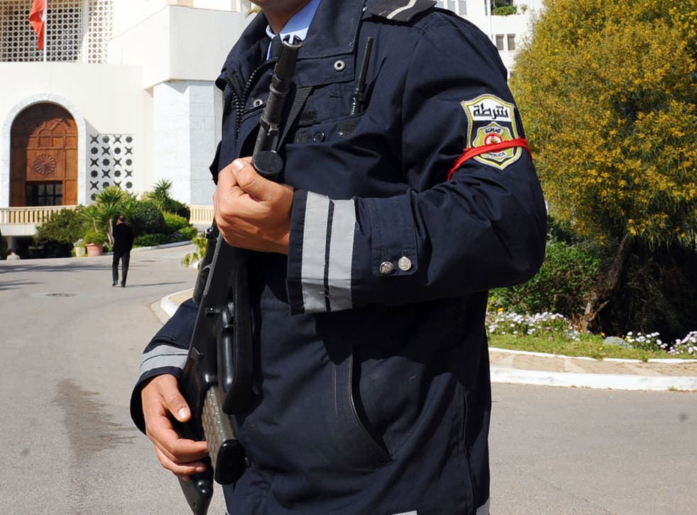 Three policeman have been shot at on the outskirts of Sousse