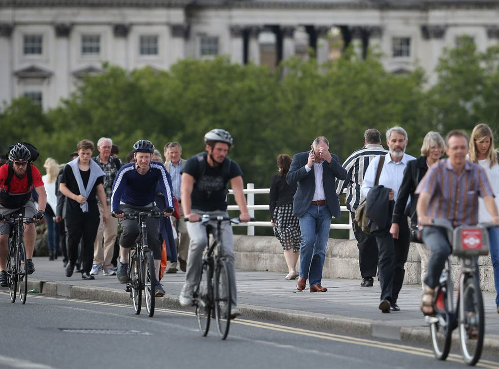 """The east London junction of Stratford High Street and Warton Road was labelled the """"worst area"""" for cyclists"""