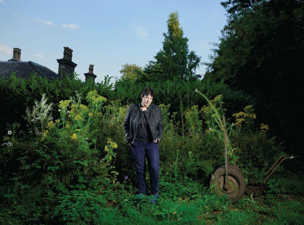 Force of nature: Joanne Harris in her garden