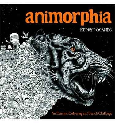 Animorphia Goes One Step Beyond Just Colouring In