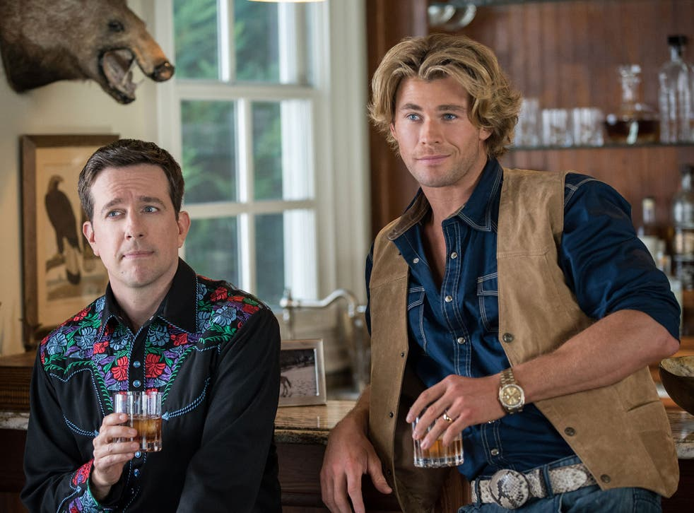 On holiday: Ed Helms and Chris Hemsworth in 'Vacation'
