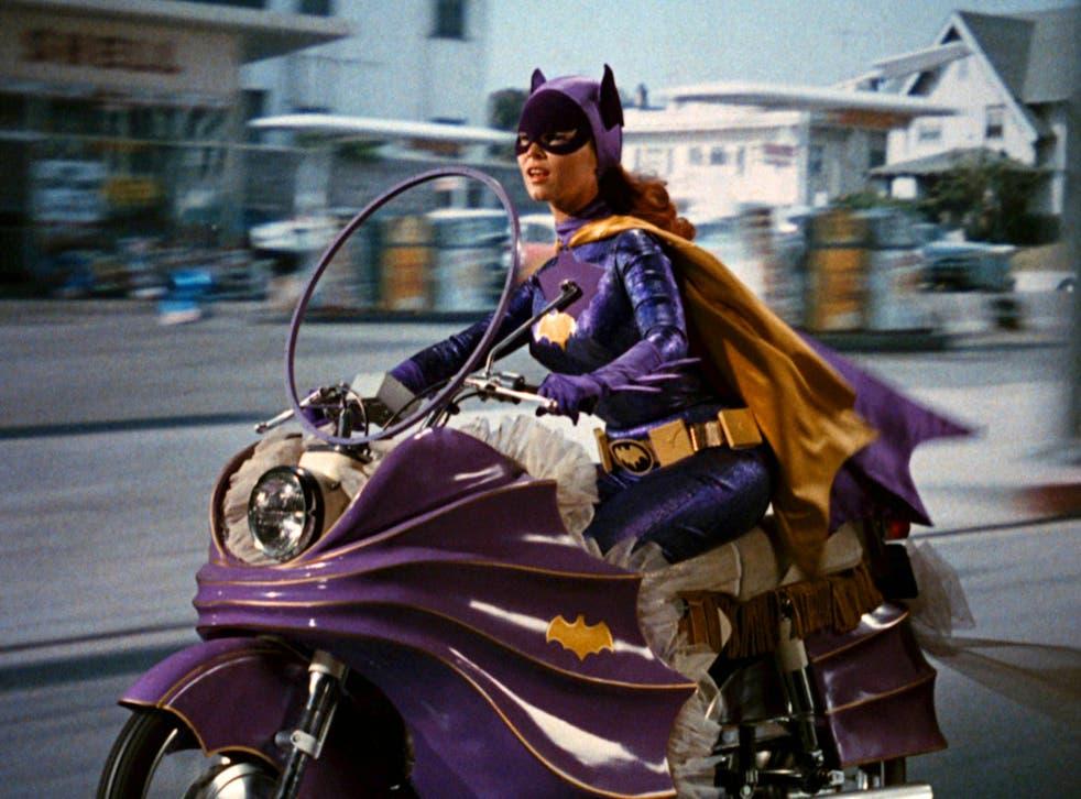 Yvonne Craig portrays the crime-fighting Batgirl in the 1960s TV hit Batman