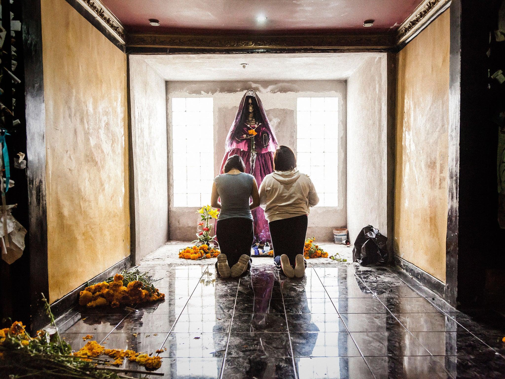 Santa Muerte: New photography book focuses on the devotees