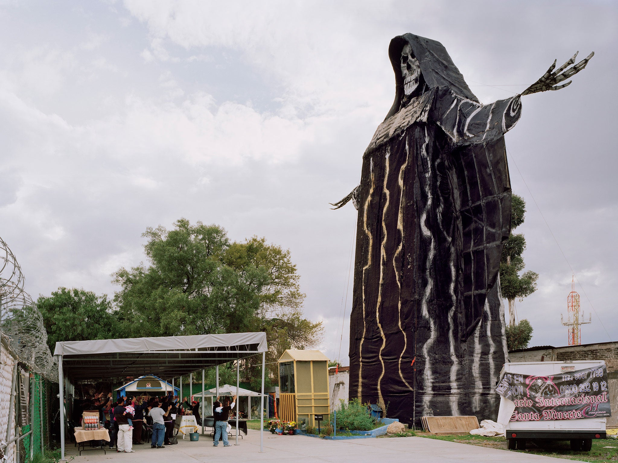 Santa Muerte: New photography book focuses on the devotees