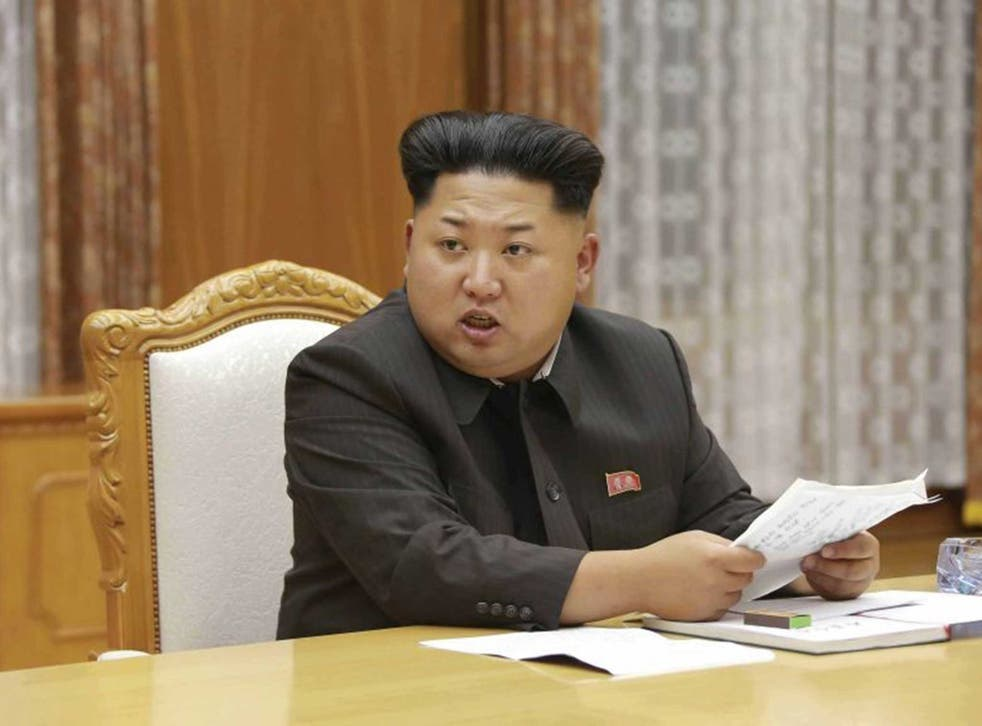 Kim speaks to North Korea generals following an escalation of tension along the DMZ