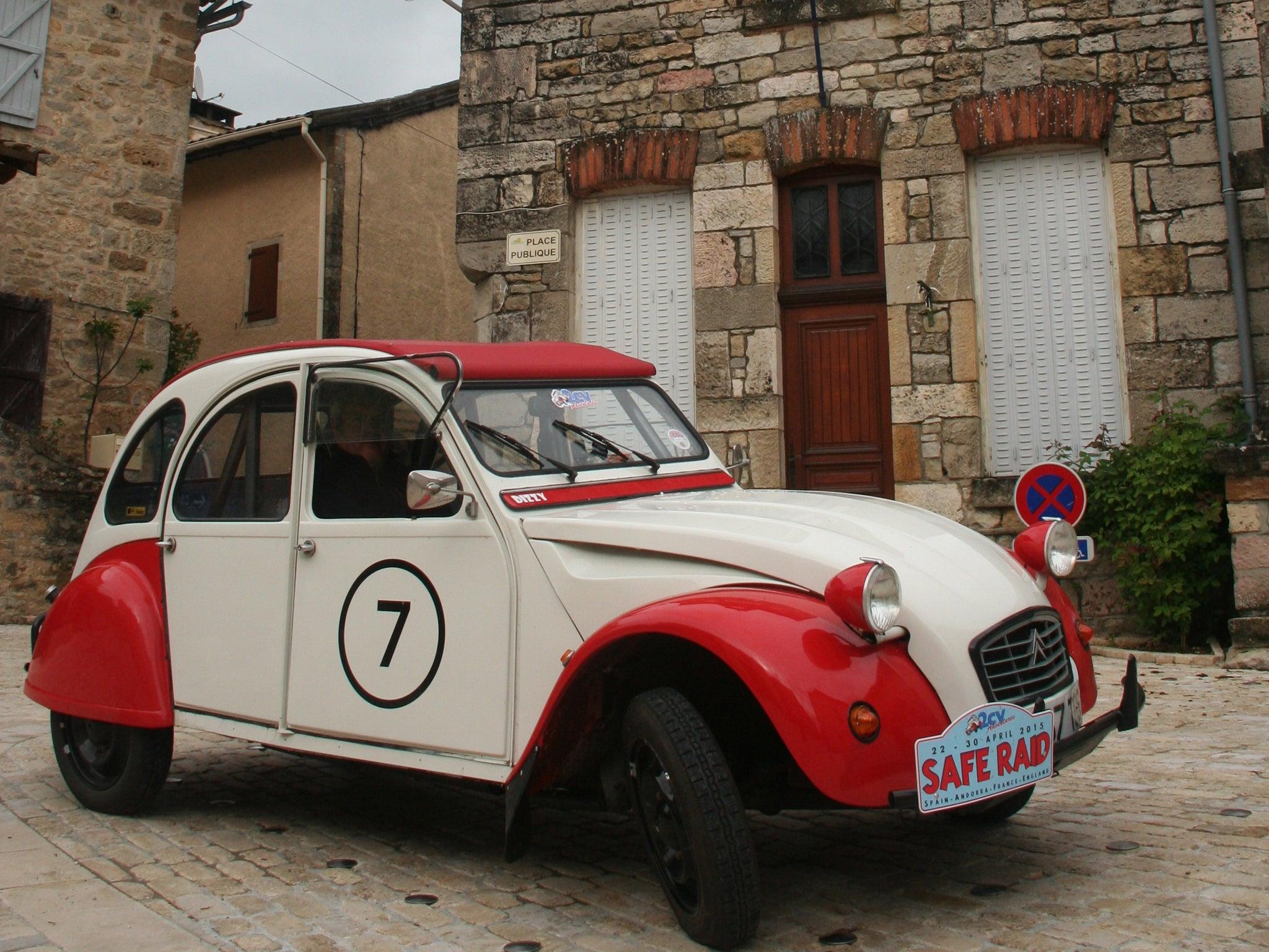 horsepower  a citroen 2cv rally through spain and france