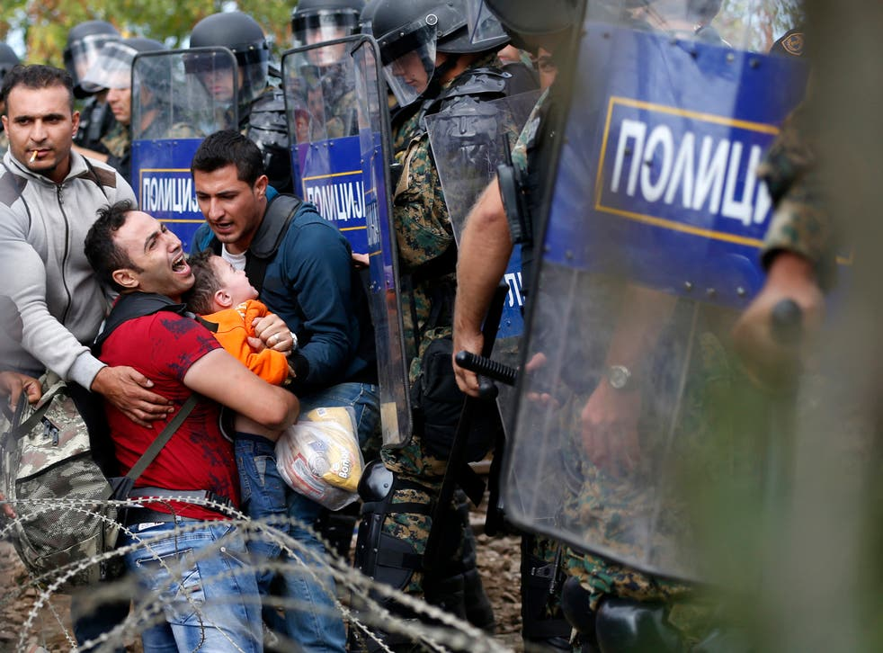 Human rights organisations have urged authorities to treat refugees with dignity and respect