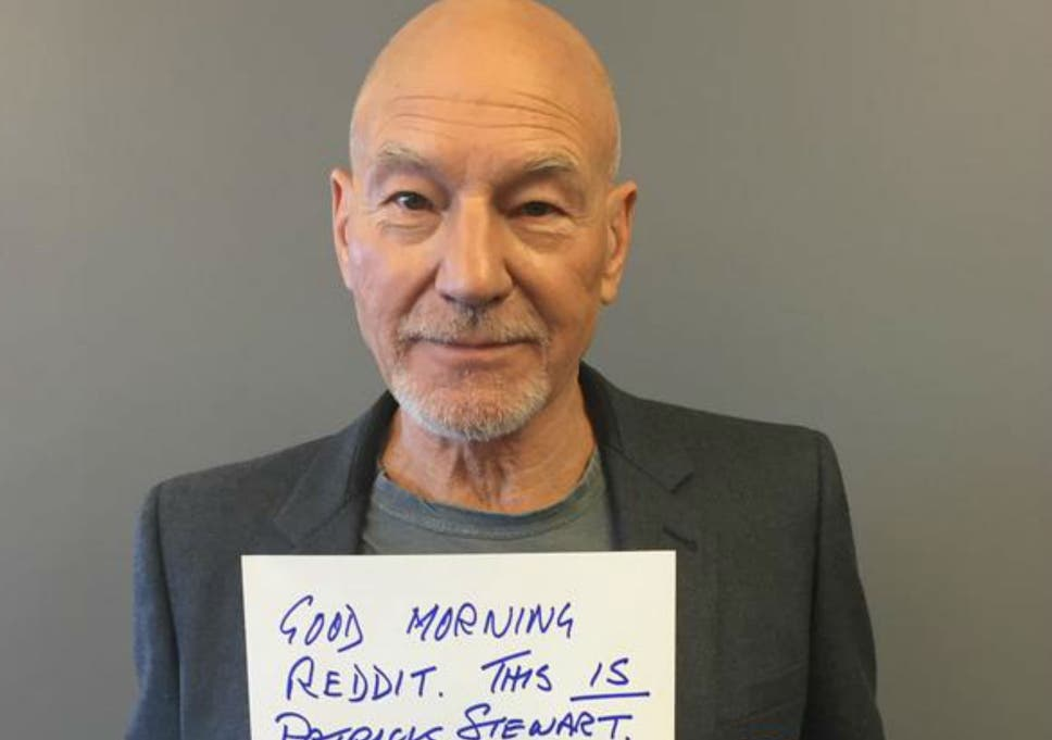 ee2fa53431a2 Patrick Stewart admits he s lost the Olympic torch... and reveals ...