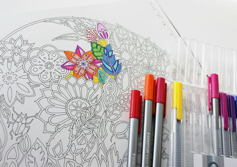 Join The Colouring In Craze And Find A Tome To Help You Get Calm Creative