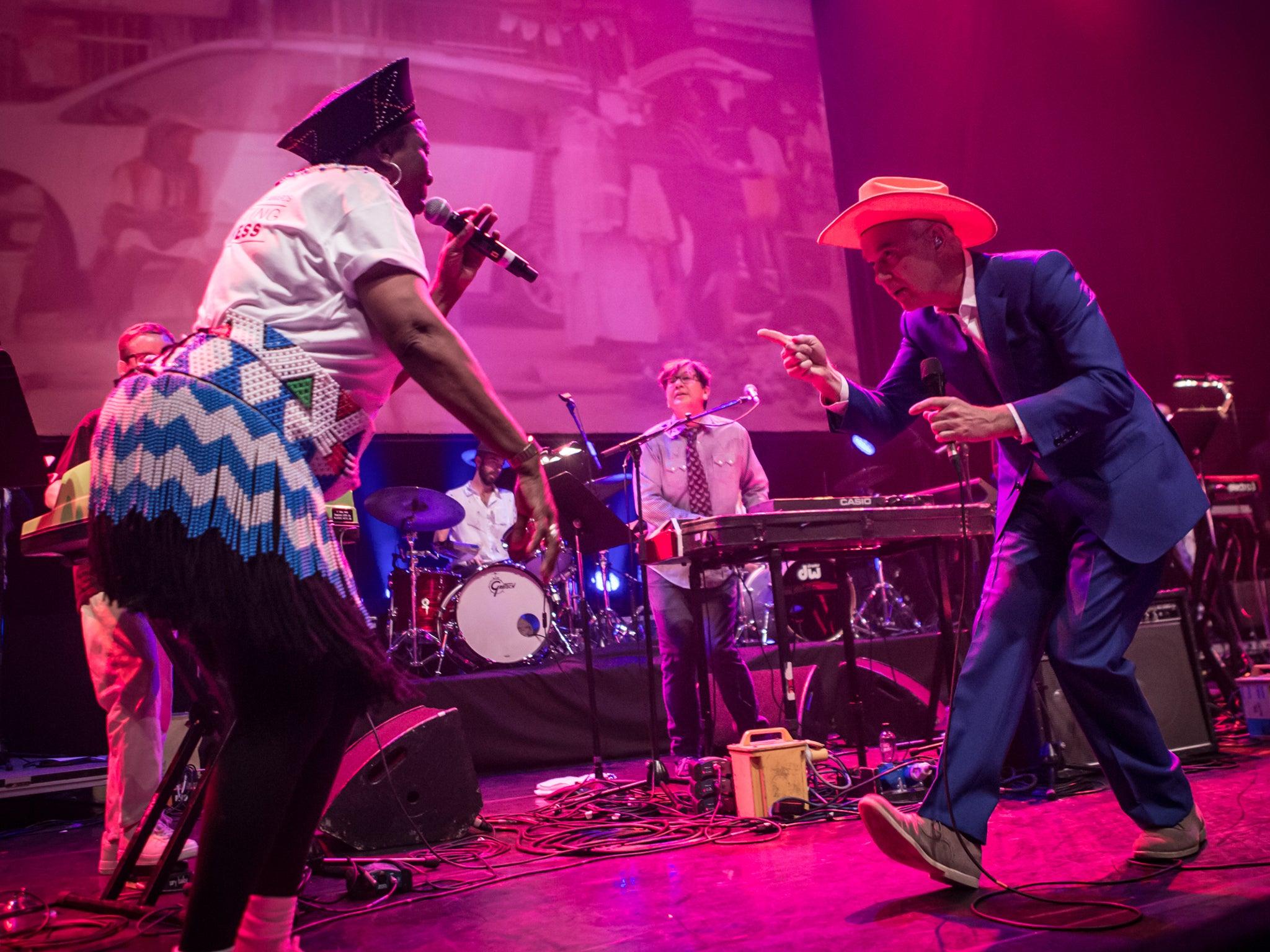 Atomic Bomb!, Meltdown Festival, Review: David Byrne's
