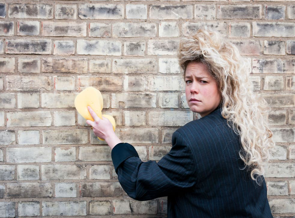 Louise Reay is a British clown who performs only in Chinese