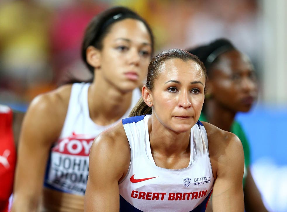 Jessica Ennis-Hill and Katarina Johnson-Thompson