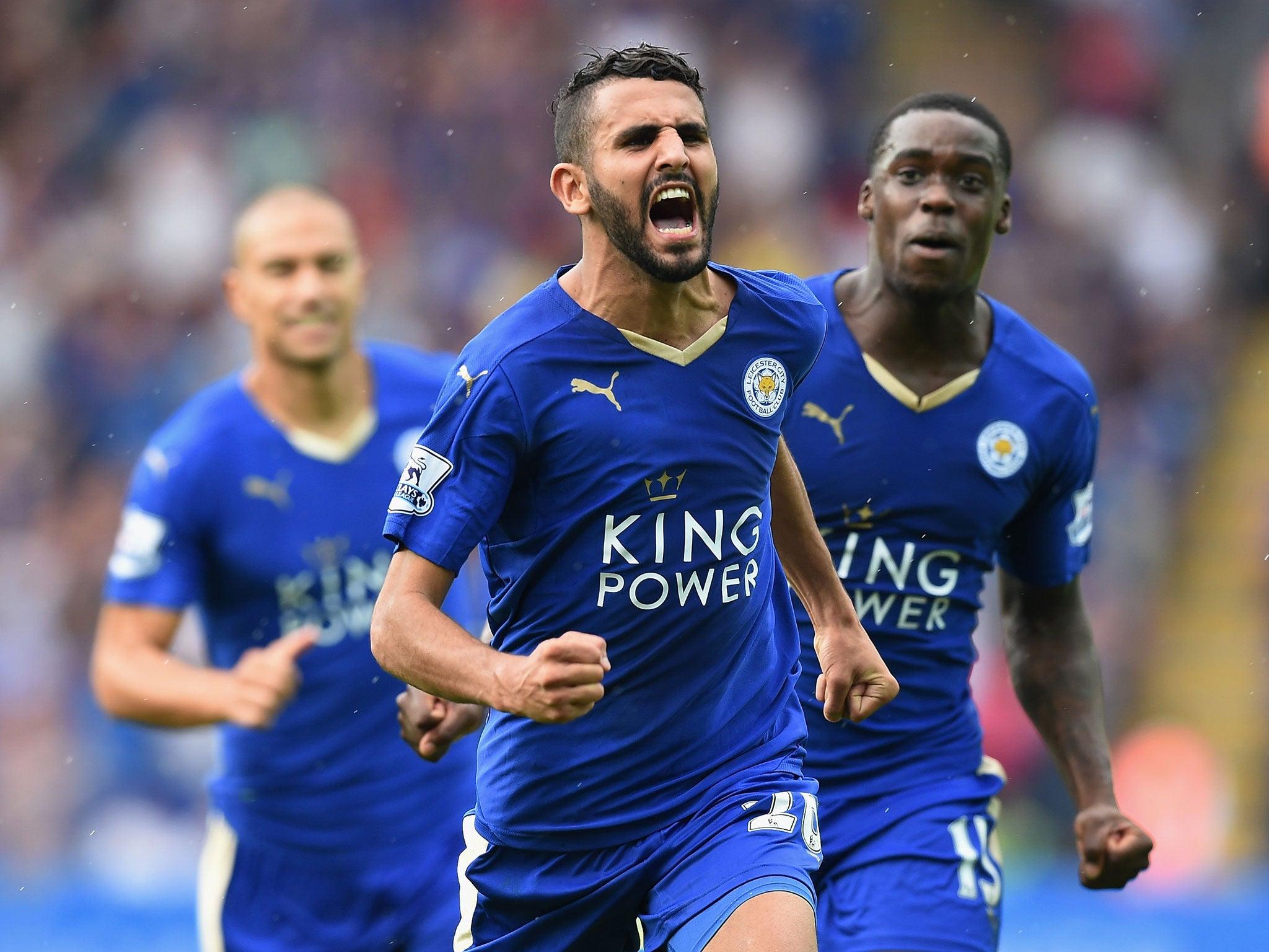 Leicester vs Tottenham match report Riyad Mahrez continues his